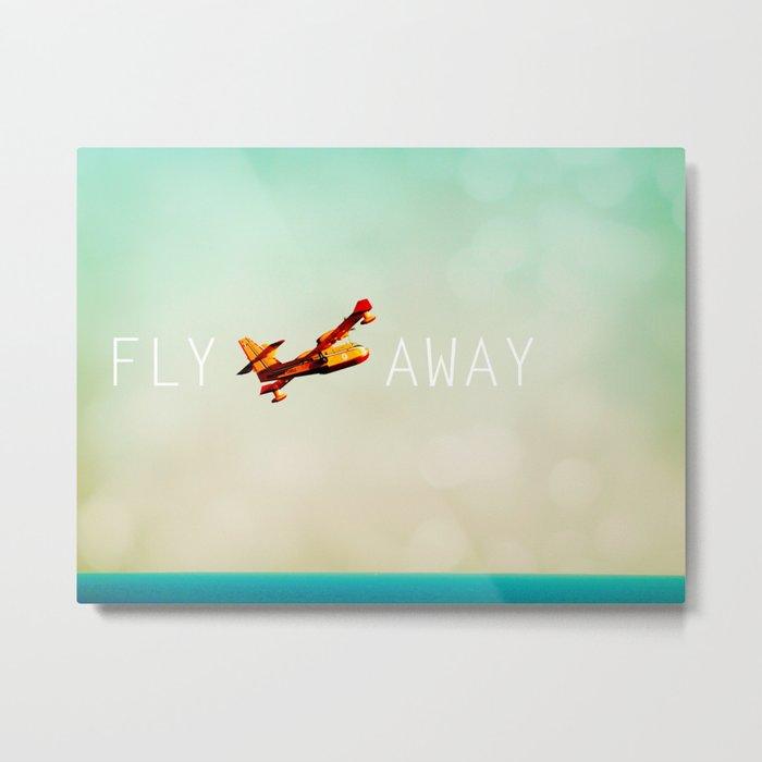 Fly Away Metal Print