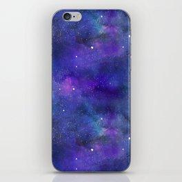 Watecolor Space Nebulae iPhone Skin