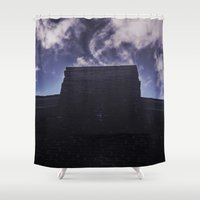 halo Shower Curtains featuring Halo by Eye of Ardon