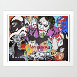 Gotham Crew Art Print