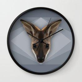 Krazy Kangaroo  Wall Clock