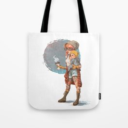 Hipster Mom Tote Bag