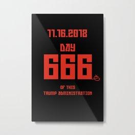 Day 666 Metal Print