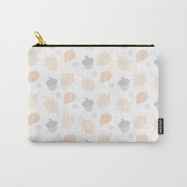 Summer Acorn Pattern Carry-All Pouch