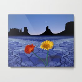 Desert Blues Metal Print