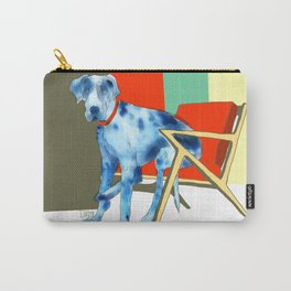 Great Dane in Chair #1 Carry-All Pouch