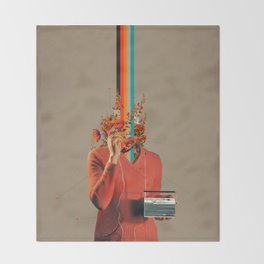 Musicolor Throw Blanket