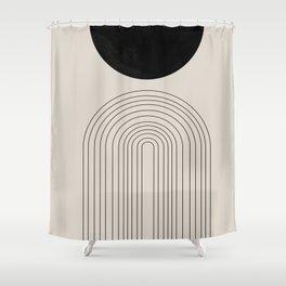 Arch, geometric modern art Shower Curtain
