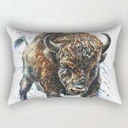 Buffalo Rectangular Pillow