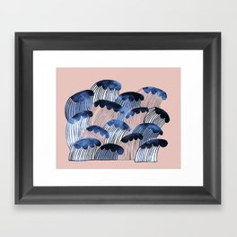 Tyrsky Myrsky Framed Art Print