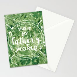 This is My Father's World Stationery Cards