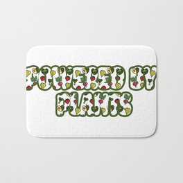 Powered by plants Bath Mat