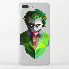 Joker Clear iPhone Case