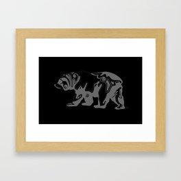 Cali Bear II Framed Art Print