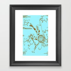 Tiny Dancer [Locust] Framed Art Print