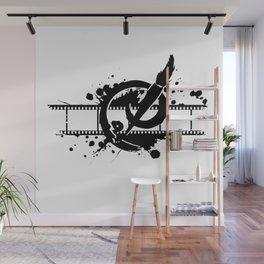 Badass Art Studio Logo Wall Mural
