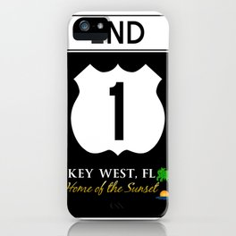U.S. Route 1 Road Sign iPhone Case