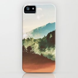 Mighty Mountain #society6 #decor #buyart iPhone Case
