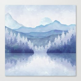 Winter Atmosphere 1:1 Canvas Print