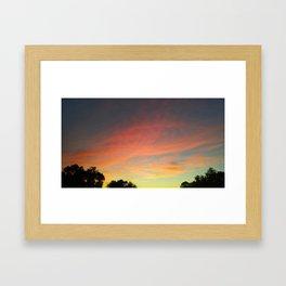 Tennessee Sky Framed Art Print