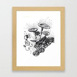 Under The Sea 2 Framed Art Print