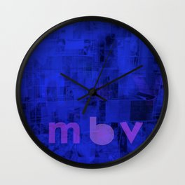 My Bloody Valentine - MBV Wall Clock