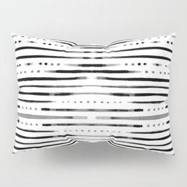 B&W Shibori #society6 #shibori Pillow Sham