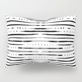 B&W Shibori Pillow Sham