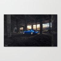 subaru Canvas Prints featuring Subaru BRZ by EvoG Photography