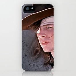 Carl Grimes Before The Fall - The Walking Dead iPhone Case