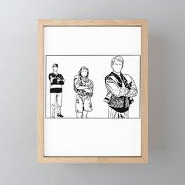 iconic 2 Framed Mini Art Print