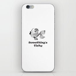 Cute funny fish iPhone Skin