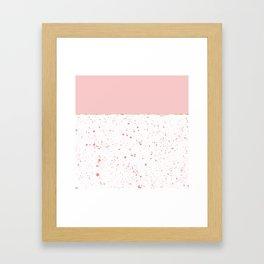 XVI - Rose 2 Framed Art Print