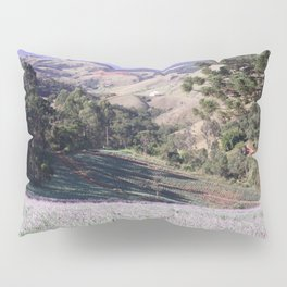 Lavenders and mountains Pillow Sham