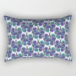 Swirly Pattern Rectangular Pillow
