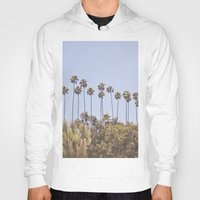 palms Hoodies featuring Palms by A. Williams