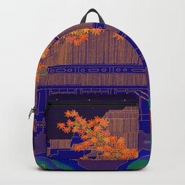 Blue Forbidden City Backpack