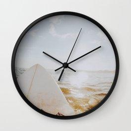 lets surf xxv Wall Clock