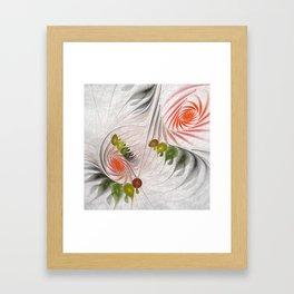 fractal design -17 Framed Art Print