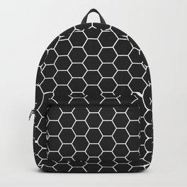 Black Hex Backpack