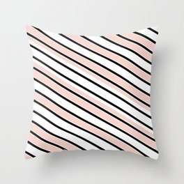 Soap Opera Chic Throw Pillow