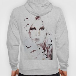 Autumn - Portrait of a Woman in Nature Hoody