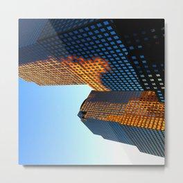Sideways Metal Print