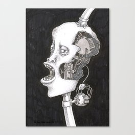 The head. Canvas Print