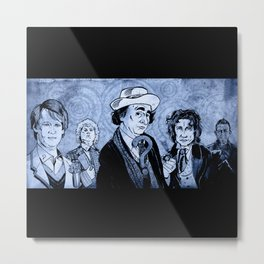 Doctor Who - Five, Six, Seven and Eight (and 'War') Metal Print