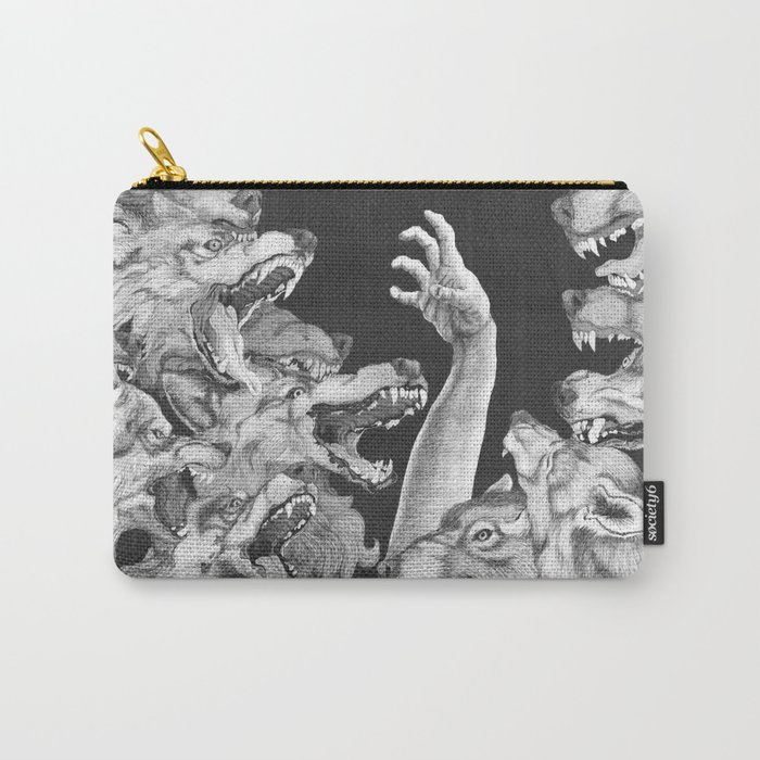 The Wolves are Coming Carry-All Pouch