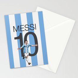 Lionel Messi Argentina 10 Print Stationery Cards