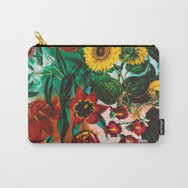 Multicolor Exotic Pattern Carry-All Pouch