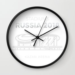 Kazan Arena Stadium Wall Clock
