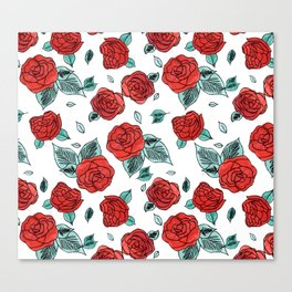 Run for the Roses Canvas Print